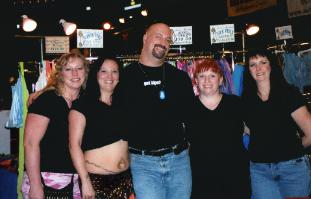 Some of us girls with Jim