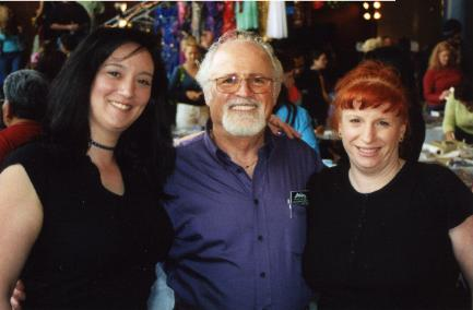 Namira Azar & Kiara with Harry Saroyan of Saroyan Mastercrafts