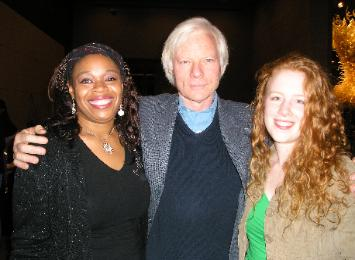 Nafiah & Megan with Miles Copeland of Bellydance Superstars